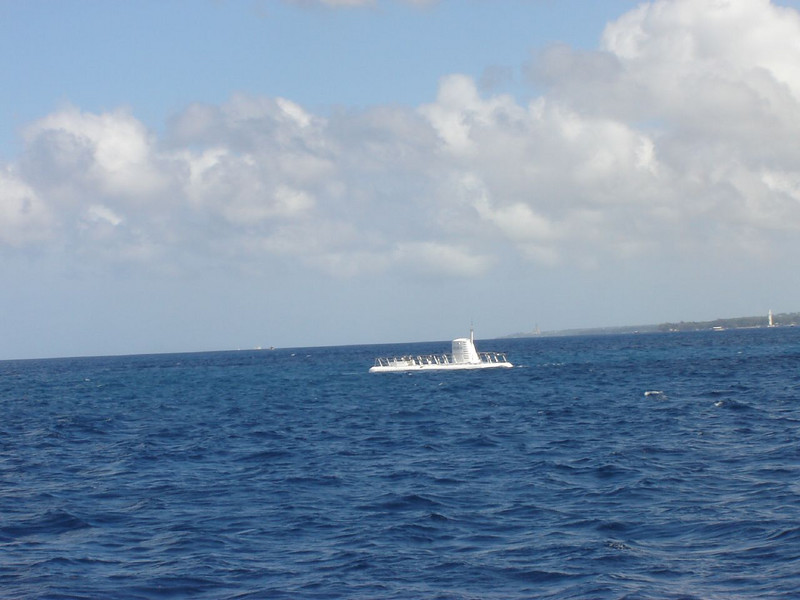 "Caribbean Cruise 191 <br /> Our Submarine ""Atlantis"" waiting for us"