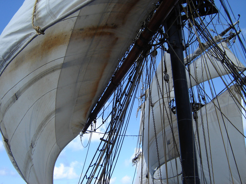 Brig Unicorn under full Sail--WOW <br /> Oh what it must of been to be a Pirate then
