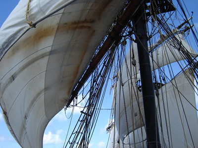 Brig Unicorn under full Sail--WOW  Oh what it must of been to be a Pirate then
