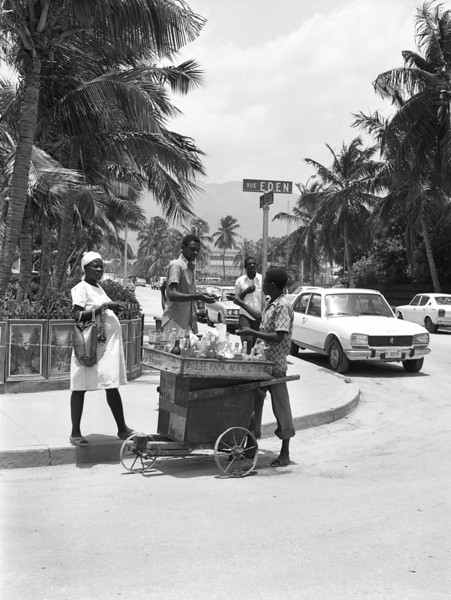 Drink Cart, Port au Prince, Haiti