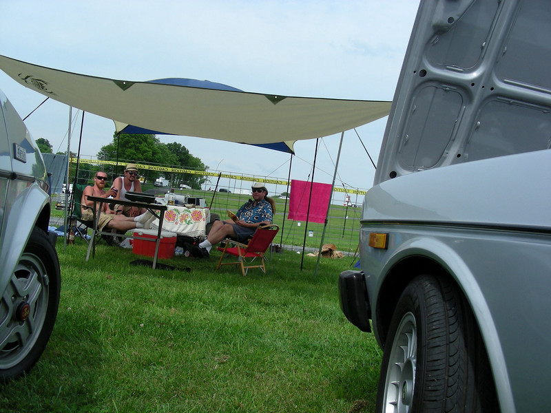 Camp Kooken with Dave & Craig.