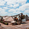Warehouses at Mosaic Potash Mine.