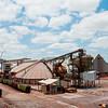 Warehouses at Mosaic Potash Mine.
