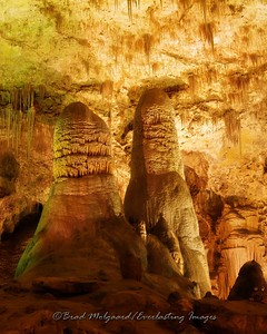 """Twin Domes"" - Carlsbad Caverns National Park / Carlsbad, New Mexico"