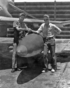 Roger Johnson and myself at Cam Ranh Bay Air Force Base, Vietnam, June 1968.