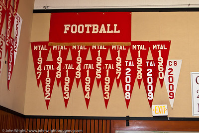 Athletic championship pennants