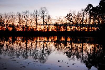Smithville Lake at Dusk
