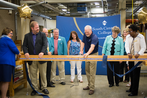 Carpentry Ribbon Cutting 7-21-15