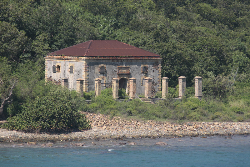 Old St. Thomas Structure.  I wondered if it may have been the Governor's house.