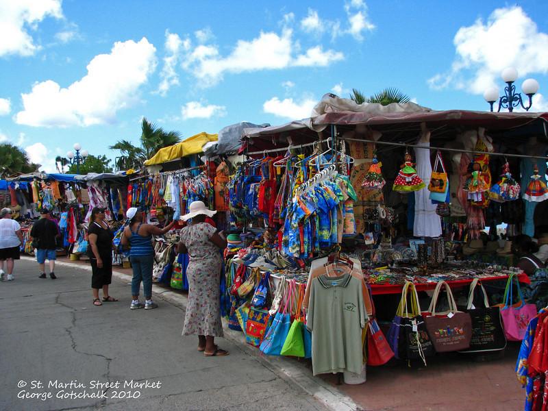 Outdoor Market St. Martin