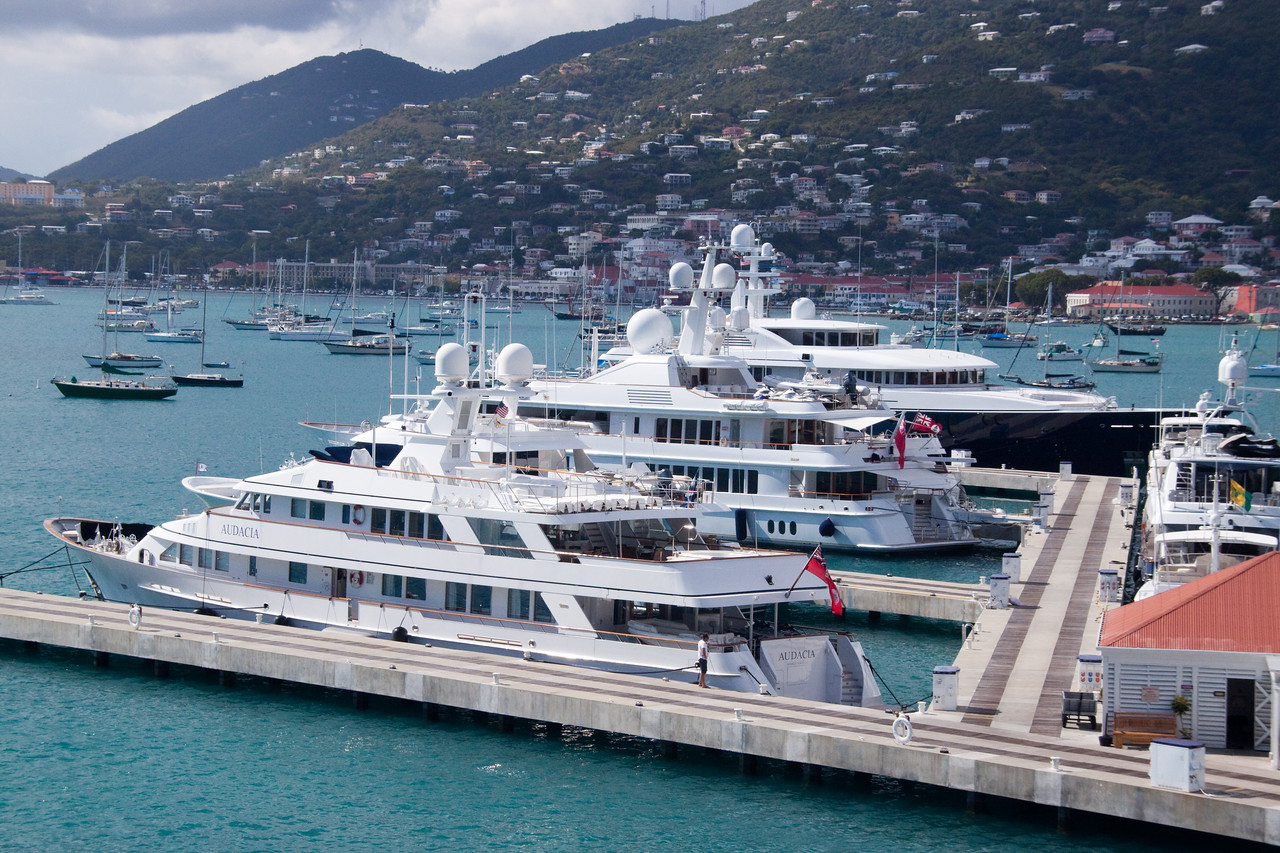 More Yachts in St. Thomas
