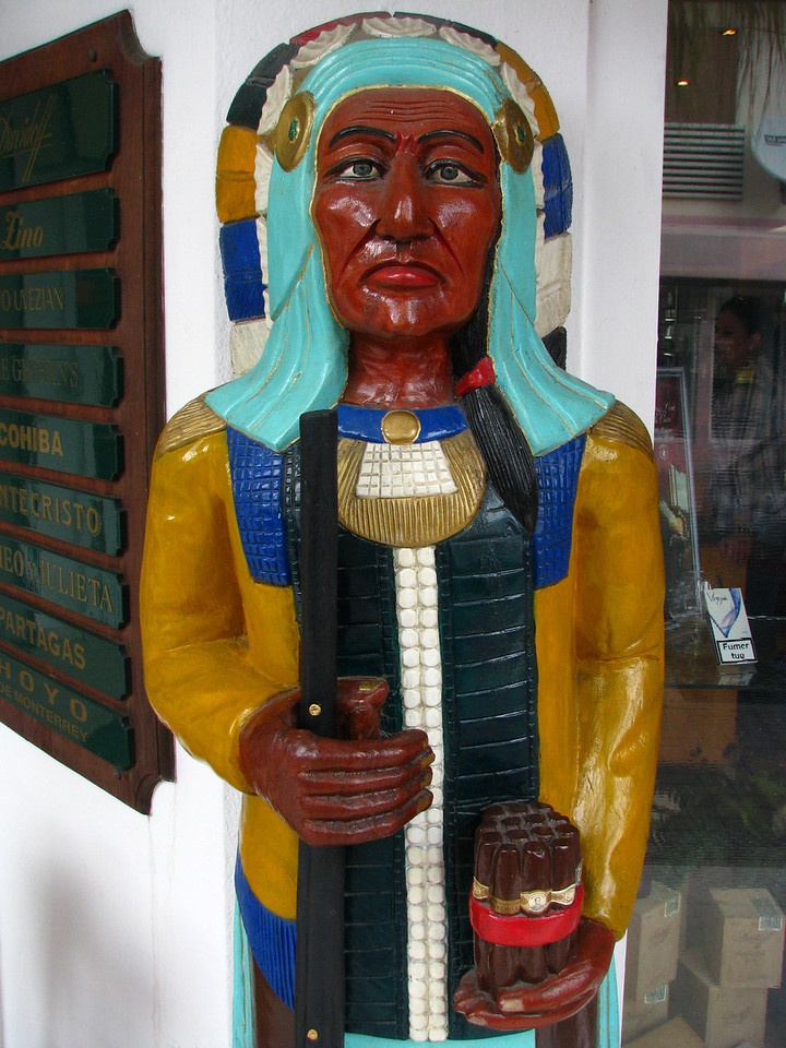 "When was the last time you saw a ""Cigar Store Indian""?"