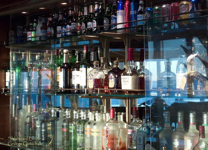 Shipboard booze.  The big profit maker.