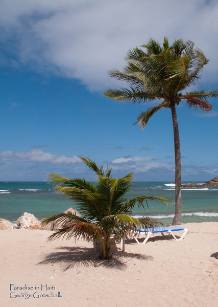 Just a great beach at Labadi Haiti