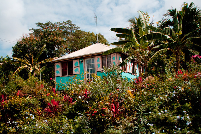 Home on the Hill in Antigua.
