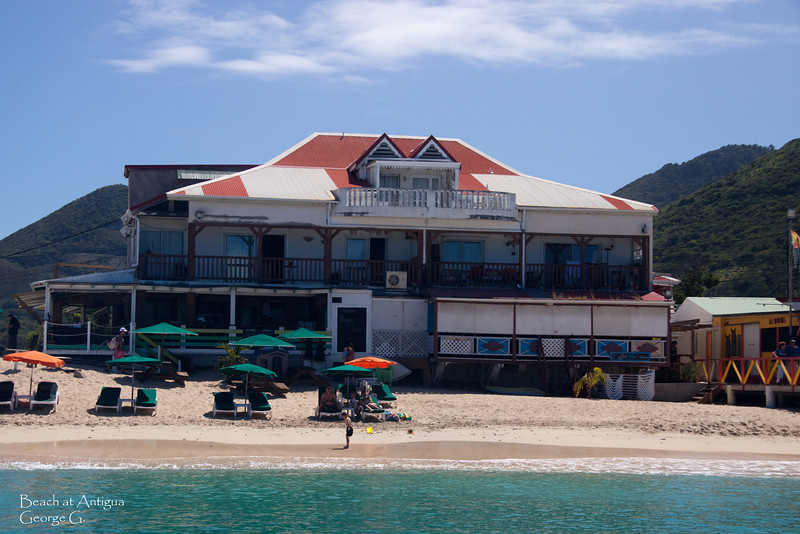Beachfront Antigua style