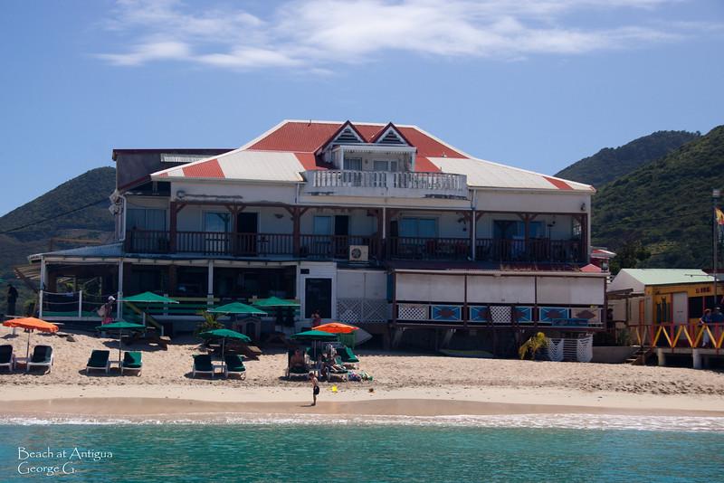 Beach at Antigua.