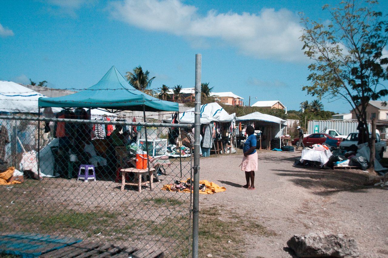 Local Markets at St. Martin.