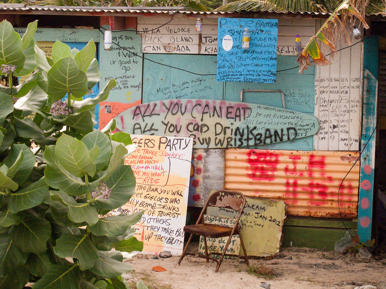 Party Shack in Antigua