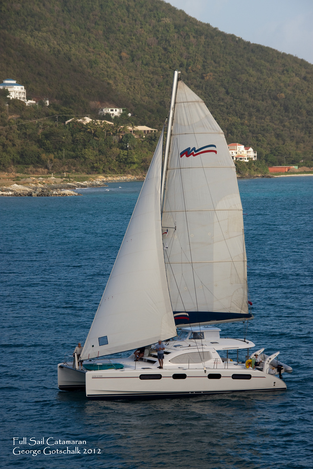 Color version of the catamaran.