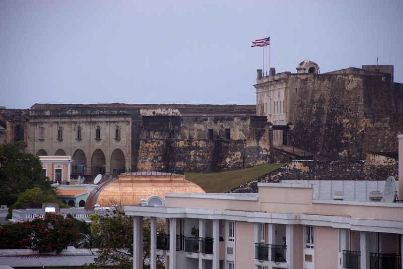 Main fort on top of the hilltop in San Juan