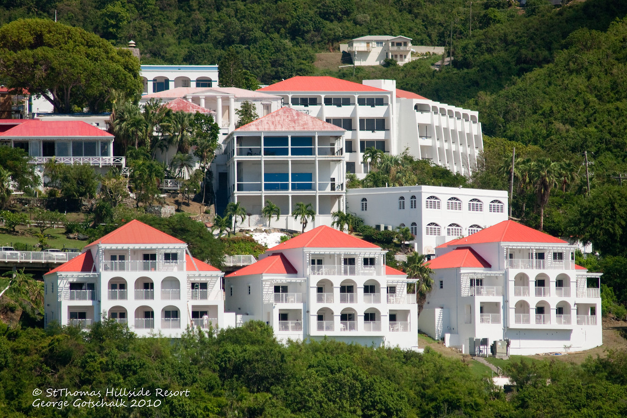 St. Thomas Hillside resort