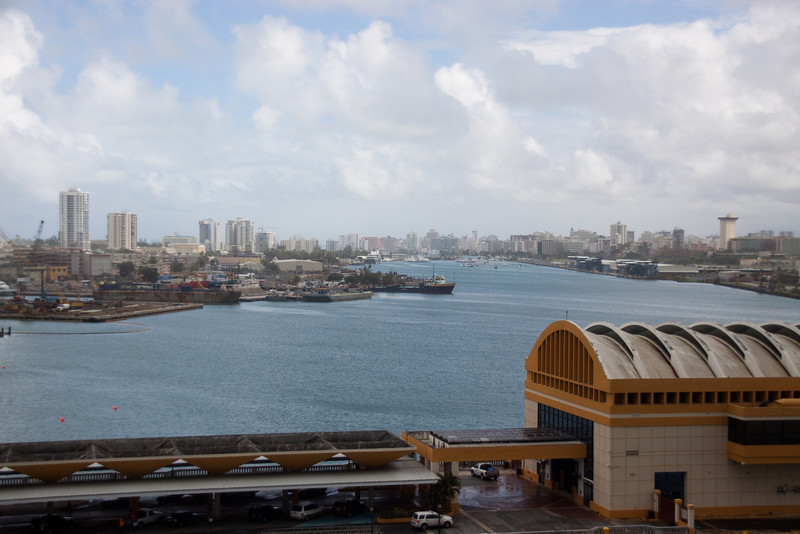 Long view city view of San Juan