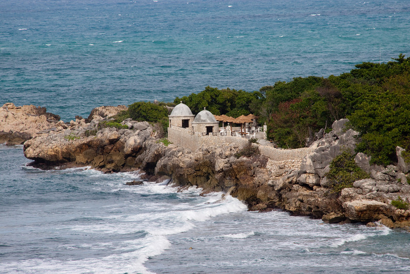 Different view of the point at Labadi Haiti
