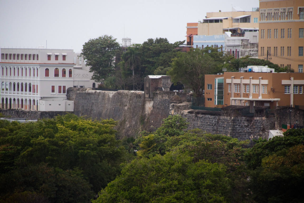 Old and new in San Juan