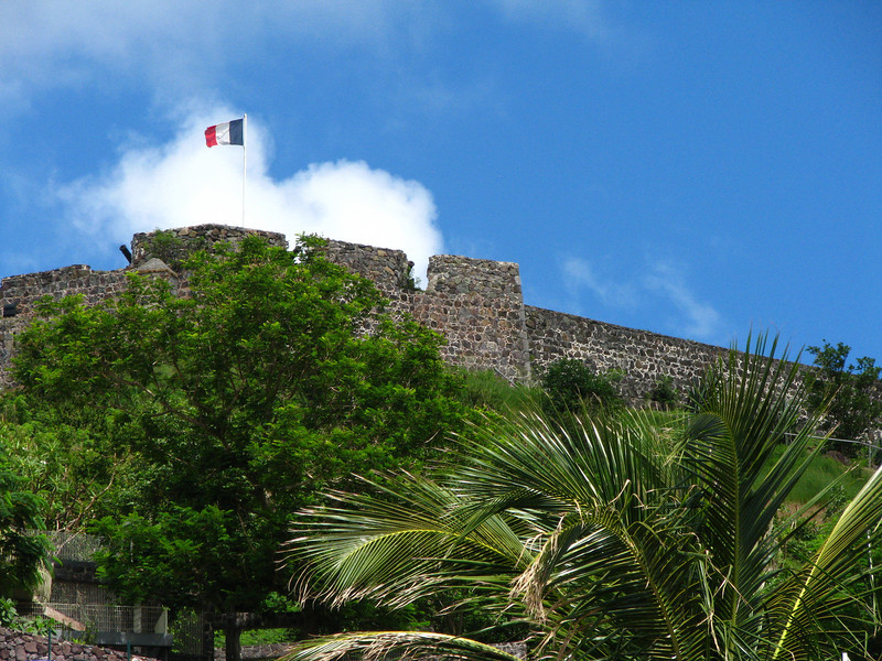 Old Fort on the French side