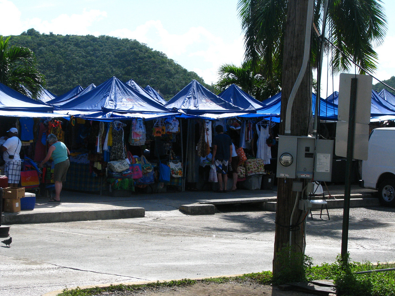Another open air market
