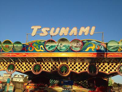 The Tsunami ride at the Santa Cruz Beach Boardwalk.