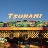 The Tsunami ride at the Santa Cruz Beach Boardwalk.