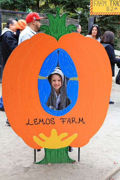 Ava at Lemos Farm in Half Moon Bay, California.