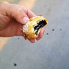 Deep fried orea cookie.
