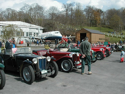Brooklands, MG Day, March 2000