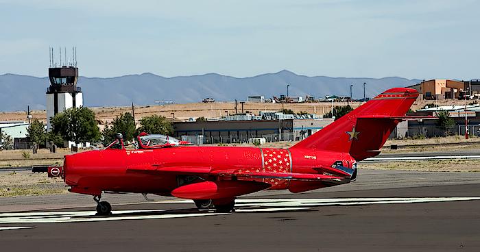 Prescott AirShow. Russian Mig