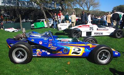 Cars of Parnelli Jones