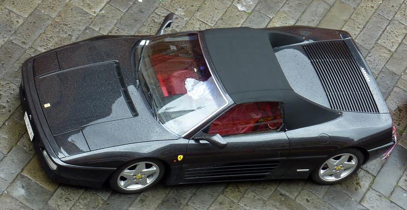 Ferrari F348 spider, black