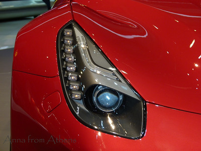 Eye of a Ferrari