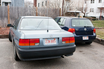 Both of our cars.