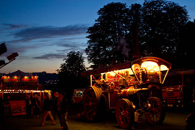 Carters steam fair night pinkneys green