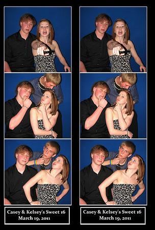 Casey & Kelsey's Sweet 16