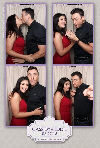 Cassidy & Eddie Lackey Wedding 6.27.15