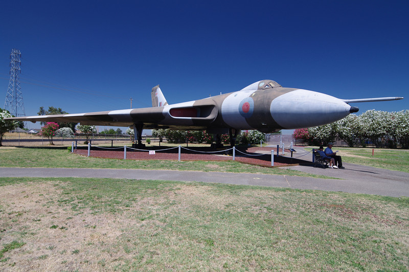 Avro Vulcan B.Mk 2: (Bomber), 1952-1980 opperation, 640 mph Max Speed, 65,000ft Max Altitude, 4,600 mile range, 21,000lbs Max Bomb Payload.