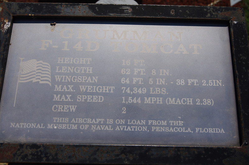 Grumman F-14 Tomcat's Credentials: