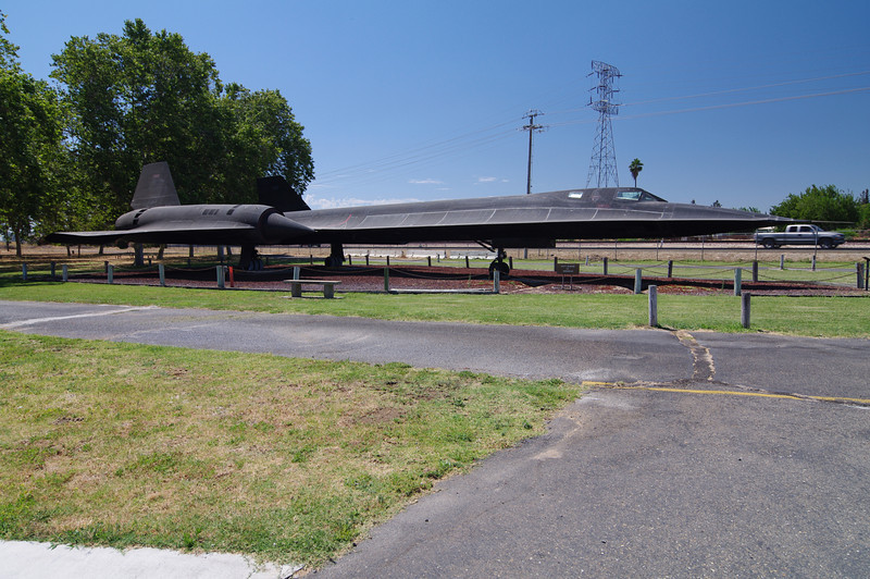 Lockheed SR-71 Blackbird: (Reconnaissance), 2,350 mph Max Speed, 80,000+ft Max Altitude. It can fly from Los Angeles to Washington D.C. in about a little over an hour. Supposidly this one has flew the most operational missions.