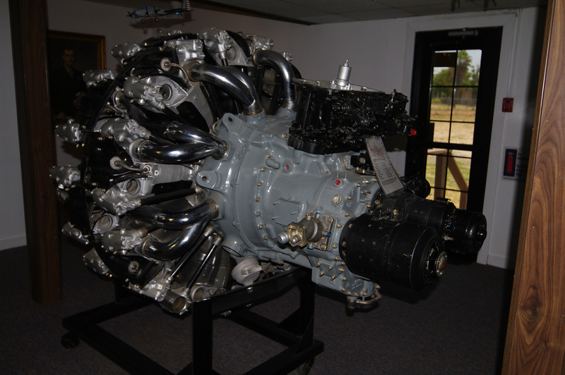 18-cylinders 1,850-2,500 HP depending on configuration.