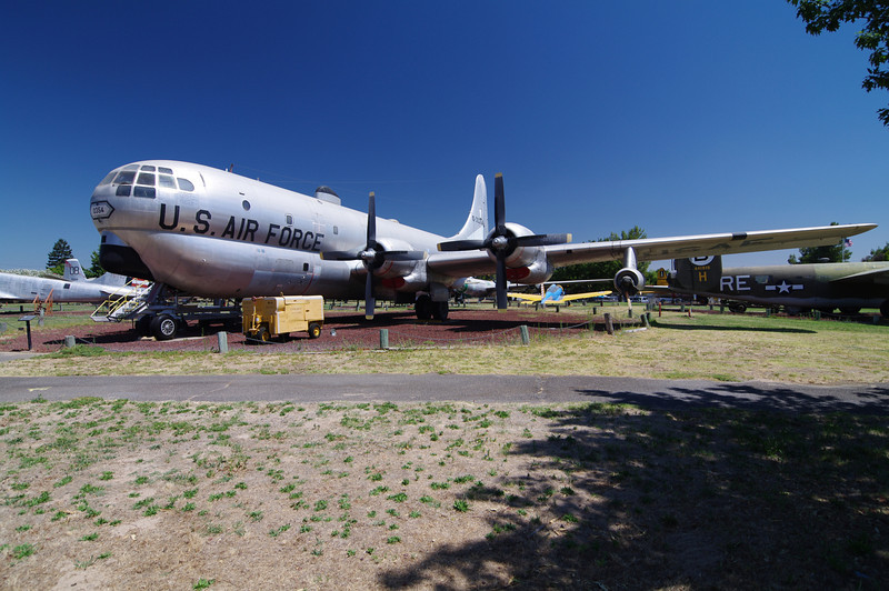Boeing KC-97 StratoFreighter: (Tanker),  World War II Era, Capable of off-loading 15,000 gallons of fuel.