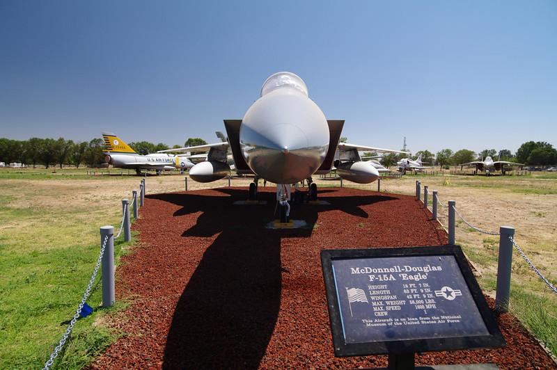 McDonnell Douglas F-15A Eagle & it's Credentials.
